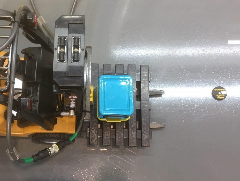 RFID - Autarker Gabelstapler Modellansicht